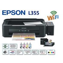 Epson Multifuncional L355 33ppm Tinta Continua Inalambrica