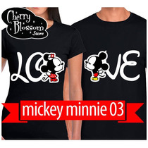 Playeras Novios Gratis Sus Nombres Parejas Mickey King Queen