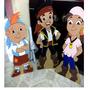 Fiesta Jake Y Los Piratas Personajes De Madera Centros