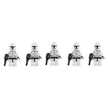 Lego Star Wars Lote De 5 Clone Troopers Minifigures Con Blas