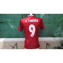 Jersey Atlético De Madrid 2014-2015 Niño Torres