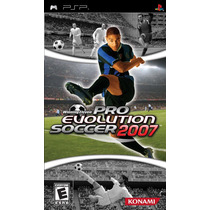 Pro Evolution Soccer 2007 Psp Envio Gratis Seminuevo