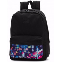 Mochila Vans Cameo Black Multi Backpack Vn00021nhnr Laptop