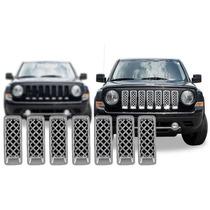 Cubre Parrilla Cromada Jeep Patriot 2011 - 2014 Nuevos!!!