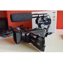 Canon Fullhd 32gb Disco Duro Incluye Parasol Y Bateria Extra