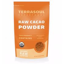 Cacao En Polvo Organico Terrasoul 16oz/454g