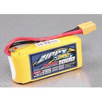 Bateria Lipo 1000mah 11.1v 3s Recargable 25c Zippy Compact