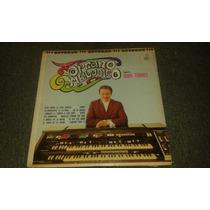 Disco Acetato De Organo Melodico Juan Torres Vol.7