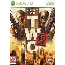 Army Of Two 40th Day Xbox 360 Nuevo
