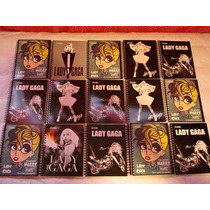 Cuaderno Lady Gaga Profesional 90 Hojas 5 Modelos Diferentes