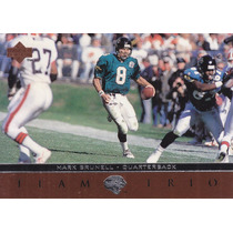 1996 Upper Deck Team Trio Mark Brunell Qb Jaguars