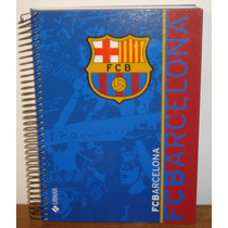 Fcb Barcelona Libreta T. Profesional Cuadro Grande 200 Hojas