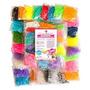 7200 Banda Mega Rainbow Braid Loom Refill Set - Us Lab Teste