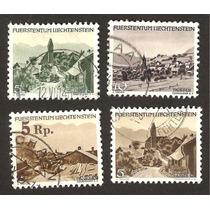 Estampillas Usadas De Liechtenstein Turismo Vbf