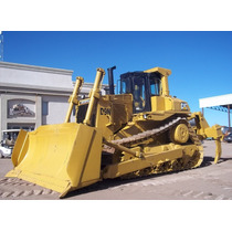 Topador Frontal D9n Caterpillar Bulldozer Con Ripper.