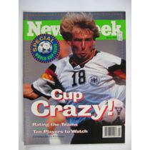 Revista Newsweek Mundial De Fútbol Usa 94- Edición Especial