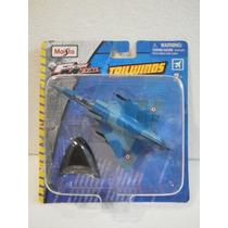 Maisto Fresh Metal Tailwinds Avion Mirage 2000c Azul