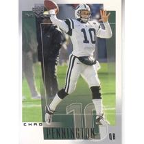 2001 Ud Mvp Chad Pennington Qb Jets