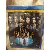 En El Bosque Into The Woods Disney Musical Bluray Nuevo