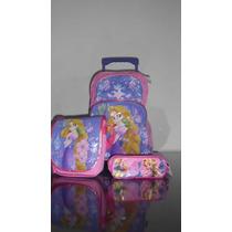 Rapunzel Mochila Lonchera Lapicera Envio Gratis $990.00 Mn4