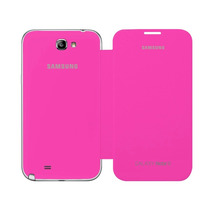 Samsung Galaxy Note 2 N7100 Flip Cover Original Rosa