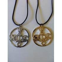 Collar Fandoms Harry Potter Cazadores De Sombras Sinsajo