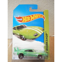 Hot Wheels 69 Dodge Charger Daytona Verde 234/250 2014