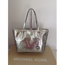 Bolsa Michael Kors Mk Travel Perforated Voriginal Chica Maa