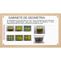 Gabinete De Geometria Montessori