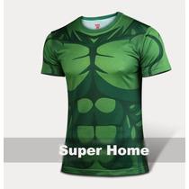 Playera Gym Gimnasio Deportiva Hulk, Antman, Ironman Extras