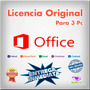 Office Professional Plus 2013 Licencia Original 3 Pc