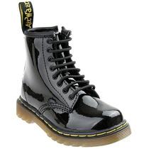 Original Dr Martens Botas Negro Charol 7inch Urban Style Mn4