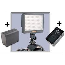 Lampara 140 Leds Yongnuo + Bateria + Cargador Video Foto