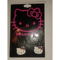 Aretes Cara Hello Kitty! Importados