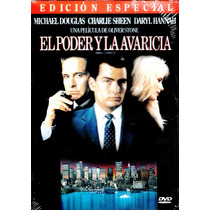 Dvd El Poder Y La Avaricia (wall Street) 1987 - Oliver Stone