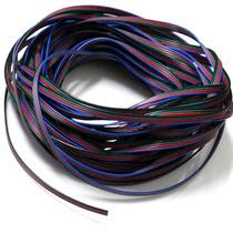 Cable Rgb De 100 Mts Para Tiras Y Modulos Rgb