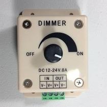 Dimmer Manual Para Tira O Foco Led, 12 ~ 24 Volts