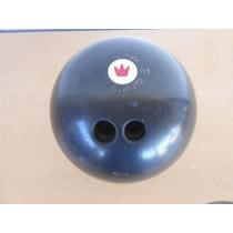 Bola Boliche Negra Peso 6 Kilos Medida 69 Cm #08