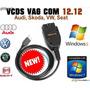 Escaner Automotriz Vag-com 12.12.3 Vw Audi Seat Version 2015