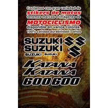 Stickers Para Suzuki Katana 600