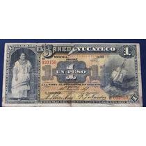 Banco Yucateco 1 Peso 1881 Muy Escaso