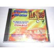 Los Llayras 16 Hits El Tranvía Del Amor Cd 1997 Nuevo!