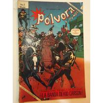 Historieta Pólvora & Puños No. 3 - Novedades