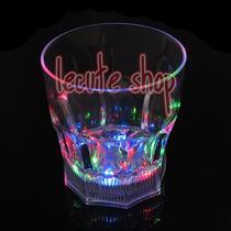 Vaso Whisky Luminoso Led Luz Whiskero Multicolor Fiesta Bar