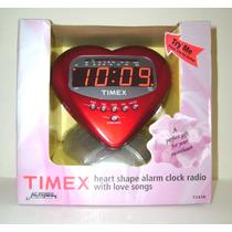 Radio Reloj Despertador Timex Con Canciones De Amor