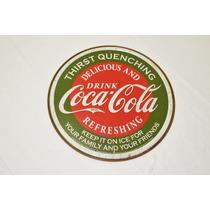Tsn1659 Letrero Lamina Decorativa Coca Cola Delicious & Vv4