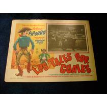 Los Tales Por Los Cuales Piporro Lobby Card Cartel Poster