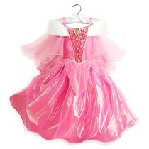 Vestido Disfraz Aurora Modelo 2016 100% Disney Store!