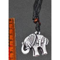Collar Y Dije Elefante-flete Gratis