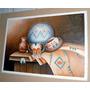 Artesan�a Ind�gena. Pintura Al Oleo. 60 X 90 Cm Env�o Gratis